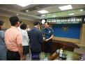 경남경찰청, 착한운전 안전보행 사진공모전 입상자 18명 상패 수여