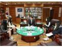 김용헌 헌재 사무처장, '휴먼 라이브러리' 청소년과 진솔한 대화