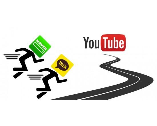 카카오·네이버, 유튜브 추격 시작...동영상플랫폼 역량 강화 나선다.