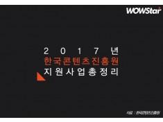 2017년 한국콘텐츠진흥원 지원사업 총정리 ⑤...콘텐츠진흥2본부