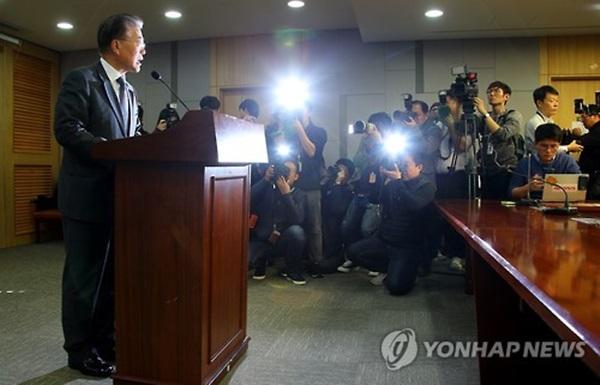 문재인 더불어민주당 전 대표 기자회견 / 사진 = 연합뉴스
