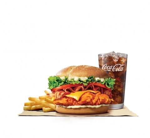 (사진) 버거킹이 기존 뉴올리언스 치킨버거의 맛을 더욱 풍성하게 업그레이드한 BLT 뉴올리언스 치킨버거를 출시했다